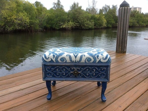 repurposed-drawer-to-vintage-blue-ottoman-painted-furniture-repurposing-upcycling-reupholster-600x4481